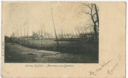 Monceau Sur Sambre Charleroi Usines Goffart Edit DVD 5565 Timbrée Marchienne Au Pont 1901 Vers Hesdin - Charleroi