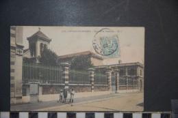 CP, 92, Levallois Perret Hospice De Vieillards N°1778 Edition GI 1905 Belle Animation RARE Colorisée - Levallois Perret