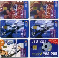 Lot 6 Télécartes Utilisées Maroc (puces Différentes Voir Scan) (lot 6) - Morocco