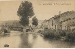 Lamorteau 6 Rouvroy Le Pont Et La Rue Des Paquis Edit Henri Georges - Rouvroy