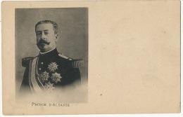 Prince D' Albanie Royauté RoyaltyPhoto René Boivin Paris 5 Rue Brézin - Albanië