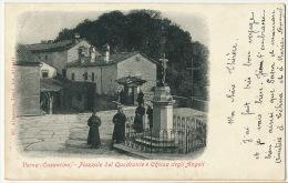 Verna Casentino Piazzale Del Quadrante 305 Alterocca Terni Vers Lignon   Par Briouze Orne 1903 - Italie