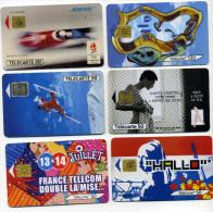 Lot 6 Télécartes Utilisées Dont 1  Bose 111000 Ex (lot 7) - Télécartes