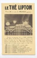 Le Thé Lipton. - Pubblicitari
