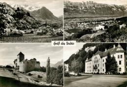 Vaduz, Liechtenstein  Postcard RP - Liechtenstein