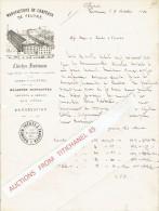 Lettre Illustrée 1880 VERVIERS -  BOUHON FRERES & FAUSTEN - Manufacture De Chapeaux De Feutre - Cloches Fantaisie - Non Classificati