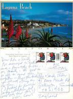 Laguna Beach, California, United States US Postcard Posted 1999 Stamp - United States