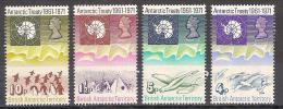 **  BRITISH ANTARTIC TERRITORY MNH YVERT 39/42  CAT. € 80,00 - Territorio Antartico Britannico  (BAT)