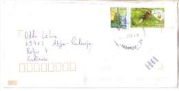 GOOD BRAZIL Postal Cover To ESTONIA 2013 - Good Stamped: Music ; Ant - Brazil