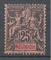 REUNION  N° 39 OBL TB - Réunion (1852-1975)