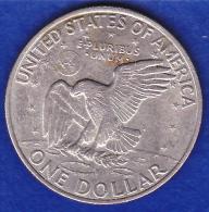 One Dollar Eisenhower1972 Ss - Münzen