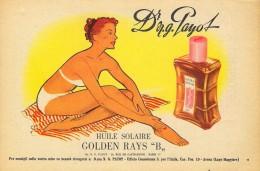# Dr. PAYOT PARIS HUILE SOLAIRE 1950s Advert Pubblicità Publicitè Reklame Suntan Oil Bronzage Creme Solaire Protector - Perfume & Beauty