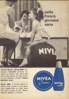 # CREMA NIVEA 1950s Advert Pubblicità Publicitè Reklame Moisturizing Cream Creme Hydratante Protector - Perfume & Beauty