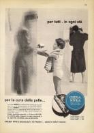 # CREMA NIVEA 1950s Advert Pubblicità Publicitè Reklame Moisturizing Cream Creme Hydratante Protector - Unclassified