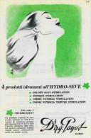 """# Dr. PAYOT """"4"""" CREME HYDRATANTE 1950s Advert Pubblicità Publicitè Reklame Cream Crema Creme Hydratante Protector Beautè - Parfums & Beauté"""