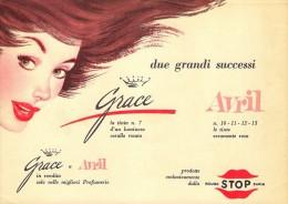 # AVRIL (type 1) ROUGE STOP PARIS 1950s Advert Pubblicità Publicitè Reklame Lipstick Rossetto Lapiz Labial Beautè - Parfums & Beauté