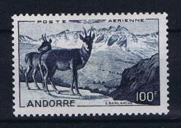 Andorre Fr. Mi 141, MH/*  Yv  Ae 1 - Poste Aérienne