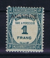 Andorre Fr. Mi Taxe 14 , MH/*  Yv  Taxe 12 - Portomarken