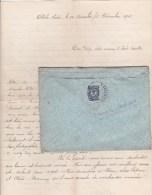 CAUCASE - 1915 - LETTRE De ALLAH-VERDI (TIFLIS) Avec CENSURE N°12 Pour LA RICAMARIE (LOIRE) - 1857-1916 Imperium