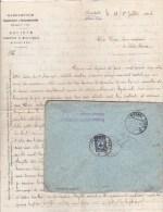 CAUCASE - 1915 - LETTRE De ALLAH-VERDI (TIFLIS) Avec CENSURE Pour LA RICAMARIE (LOIRE) - 1857-1916 Imperium