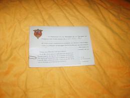 CARTE D'INVITATION DE 1938 / SOIREE ARTISTIQUE SUIVIE DE BAL HOTEL DE LA CHAMBRE DE COMMERCE. / 27 AVENUE DE FRIEDLAND. - Tickets - Entradas