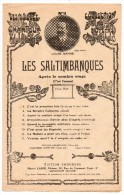 Partitions Musicales,Les Saltimbanques, Louis Ganne, Editions Choudens, Frais Fr: 1.80€ - Partitions Musicales Anciennes