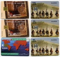 Lot 6 Télécartes Utilisées Maroc (lot 10) - Morocco