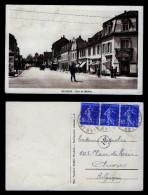 PICTURE POSTCARD PPC ST-LOUIS RUE DE BELFORT CIRCA 1930 DROGUERIE PARFUMERIE - Saint Louis