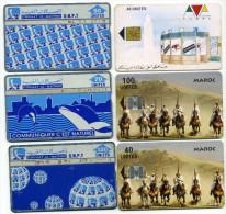 Lot 6 Télécartes Utilisées Maroc (lot 11) - Morocco