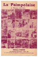 Partitions Musicales, La Paimpolaise De Théodore BOTREL,  Editions Fortin,  Frais Fr: 1.80€ - Partitions Musicales Anciennes
