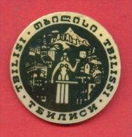 F966 / Tbilisi / Tiflis  - Capital And The Largest City Of Georgia Géorgie Georgien-  Russia Russie - Badge Pin - Città
