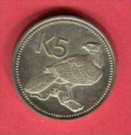 PAPOASIE 5 K 1975     TTB/SUP 43 - Papouasie-Nouvelle-Guinée
