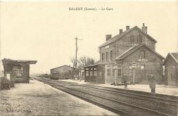 80/ Saleux - La Gare  - Demarcy Edition Pas De Numero -...................... - Autres Communes