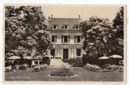 Vieux Bois Suisse Geneve Restaurant Real Photo Carte Postale Vintage Original Postcard Cpa Ak (W3_3004) - Hoteles & Restaurantes