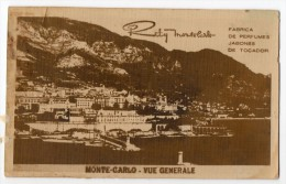 Real Photo  Monaco Soap Parfum Advertising Bety Montecarlo Carte Postale Vintage Original Postcard Cpa Ak (W3_3010) - Publicidad