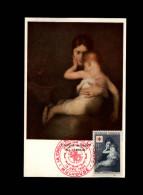 CROIX-ROUGE - Exposition Philatélique De La Croix-Rouge - 1954 - L'Enfant Malade - Carrière - Reproduction Peinture - Croix-Rouge