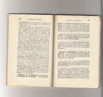 PETIT GUIDE De LOURDES Avec Plan De La Ville Par SEYRES Architecte - 1922 - France