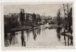 CPSM  Indre  PALLUAU  Vue Générale , Prise Du Pont  Y8122 - Frankrijk