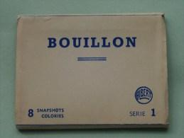 BOUILLON Seire  ( Snapshots - 8 Cards / Photo ) - Anno 19?? ( Zie Foto Voor Details ) !! - Bouillon