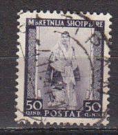 PGL BZ211 - OCC. ITALIANA ALBANIA SASSONE N°24 - Occupation 2ème Guerre Mond. (Italie)