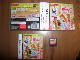 JEU VIDEO - COMPLET (NOTICE INCLUSE) KONAMI - WINX CLUB QUEST FOR THE CODEX - POUR NINTENDO DS / 3DS - Jeux électroniques