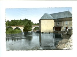 CP - SAINT PIERRE DE MAILLE 586° LE MOULIN ET LE PONT SUR LA GARTEMPE - Frankrijk