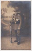 Soldat,  Infanterie-Regiment 182, Taschenlampe, Sachsen, Löbau, Deutsches Kaiserreich - Uniformes