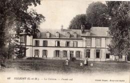EGLIGNY LE CHATEAU FACADE SUD GOUVERNANTE AVEC DES ENFANTS - France