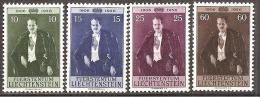 Liechtenstein 1956 // Mi. 348/351 * - Liechtenstein