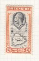ASCENSION - 1934 Medallion Portrait Of King George V - Grossbritannien (alte Kolonien Und Herrschaften)