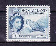 SOMALILAND  1953/8  , Queen E II Def´s Set   , Y&T  125  - 35 C  -  , Cv  3.00  E , * M V L H , V V F - Somaliland (Protettorato ...-1959)