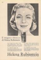# HELENA RUBINSTEIN ROUGE & MAKE UP, ITALY 1950s Advert Pubblicità Publicitè Reklame Lipstick Rossetto Lapiz Beautè - Unclassified