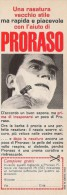 # PRORASO SHAVING CREAM, ITALY 1950s Advert Pubblicità Publicitè Reklame Crema Barba Afeitar Creme Rasage Rasierschaum - Unclassified