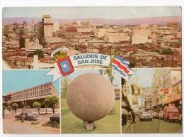 Tarjeta Postal Antigua Costa Rica Range Rover Vintage Original Postcard Cpa Ak (W3_3035) - Costa Rica